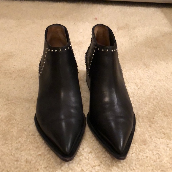 Givenchy Studded Flat Chelsea Booties
